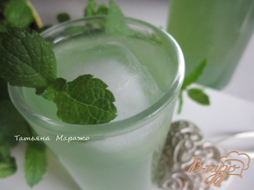 Мятно-имбирный напиток