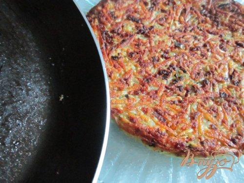 Картофельная тортилья с ветчиной