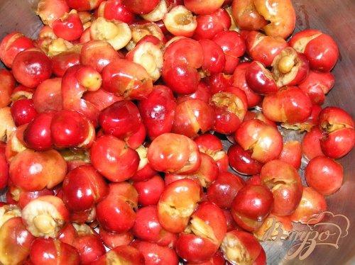 Черешнево-яблочный компот с мятой