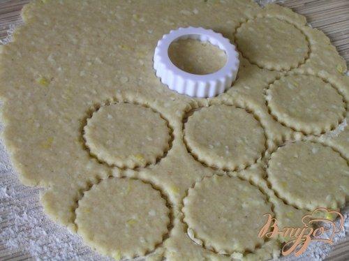 Лимонное печенье с овсяными хлопьями