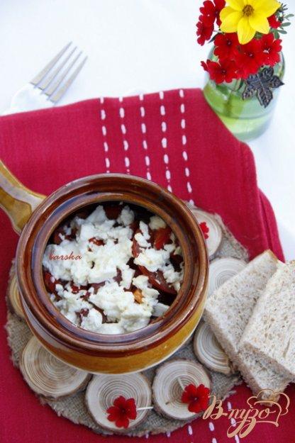 Рецепт Греческая закуска из томатов Буюрди