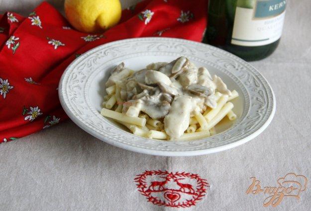 Рецепт Geschnetzeltes Züricher Art Куриное гешнетцельтес по-цюрихски