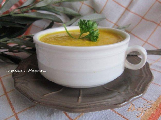 фото рецепта: Морковно-кукурузный суп-пюре