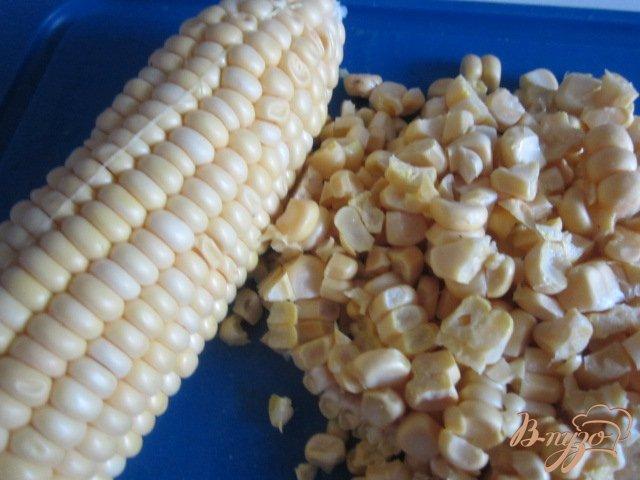 Фото приготовление рецепта: Морковно-кукурузный суп-пюре шаг №3