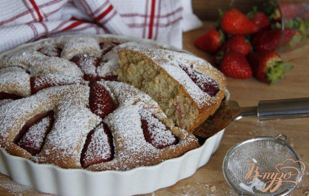 Рецепт Итальянский тарт с клубникой