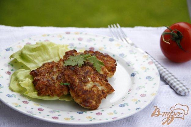 Рецепт Оладьи с мясом курицы и цуккини