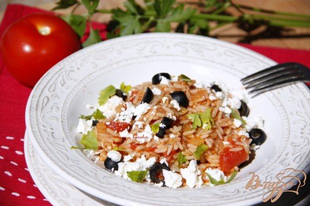 Рецепт Рис по-гречески