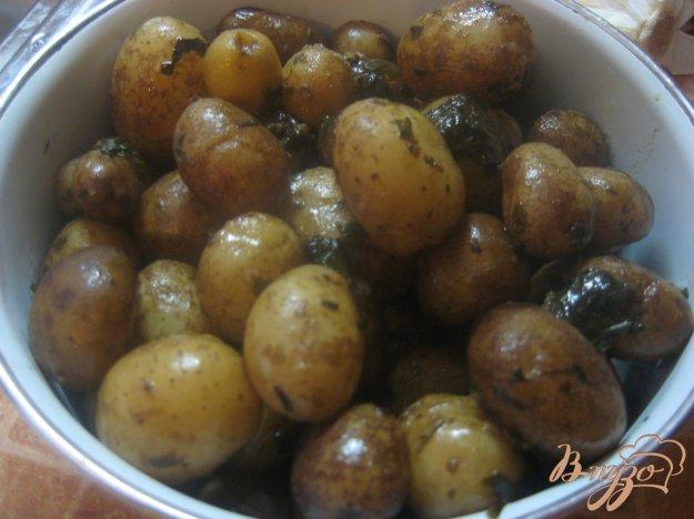 Рецепт Картофель молодой с базиликом