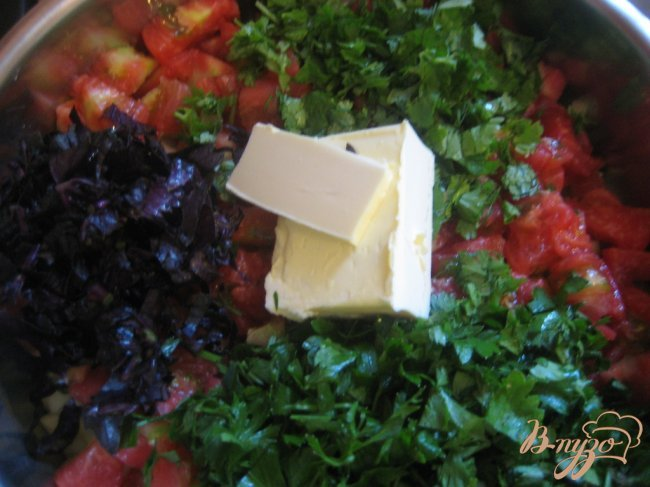 Фото приготовление рецепта: Летнее овощное рагу шаг №4