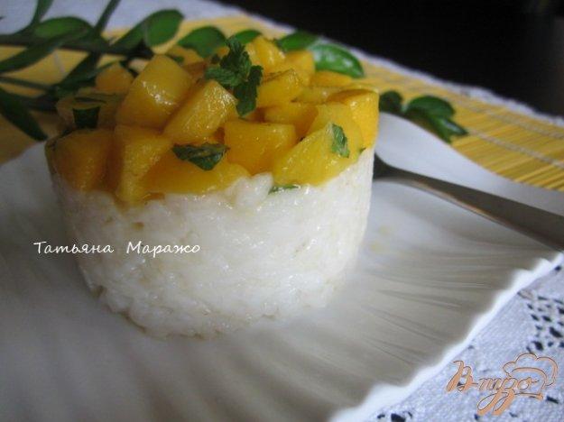 Рецепт Рисово-кокосовый тимбаль с манго