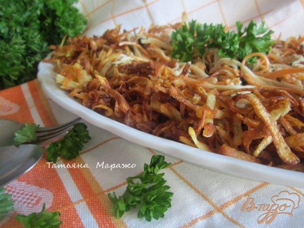 Рецепт Овощной салат с хрустящим картофелем