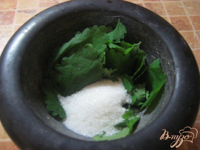 Фото приготовление рецепта: Лимонад с мятой шаг №1