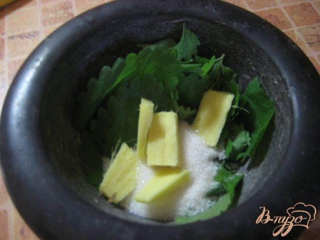 Фото приготовление рецепта: Лимонад с мятой шаг №2