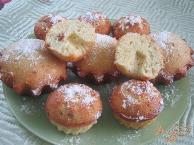 Фото приготовление рецепта: Простые кексы шаг №6