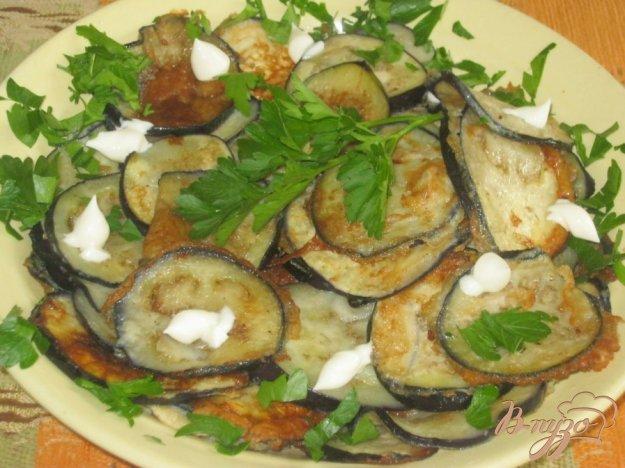 Рецепт Баклажаны, жареные в льезоне