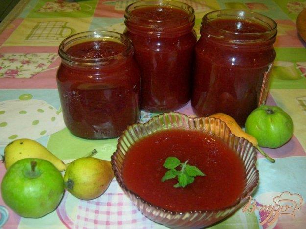 Рецепт Повидло из яблок, груш и слив
