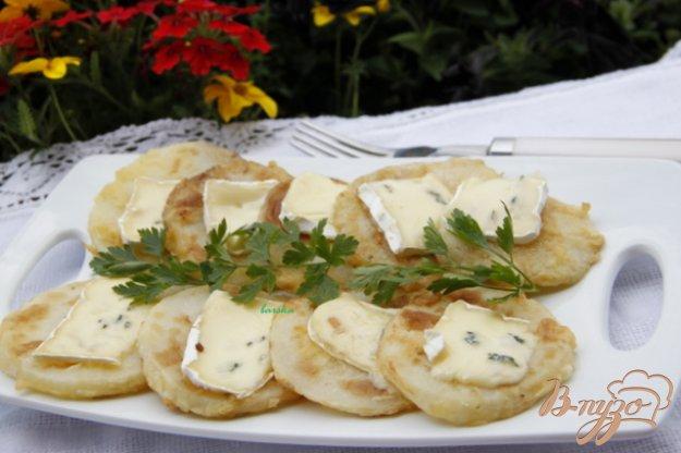 Рецепт Жареная кольраби с сыром Дорблю