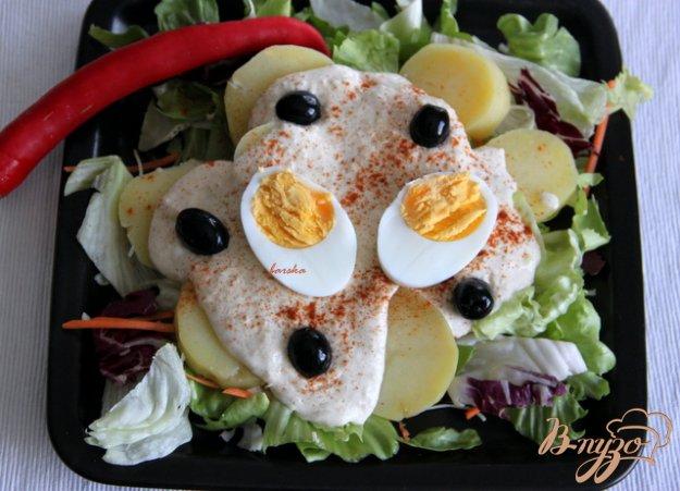 Рецепт Картофель по-перуански с киноа-соусом