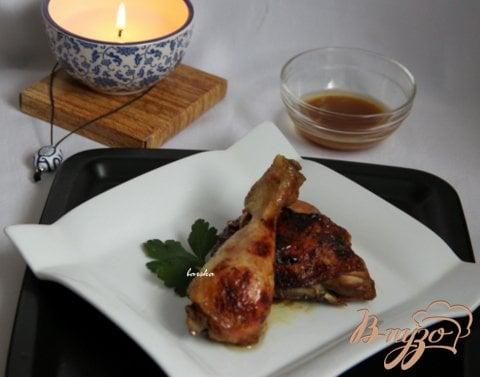 фото рецепта: Куриные  ножки/крылышки в кисло-сладком соевом соусе
