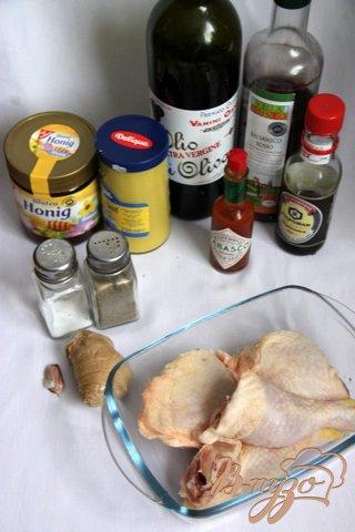 Куриные  ножки/крылышки в кисло-сладком соевом соусе
