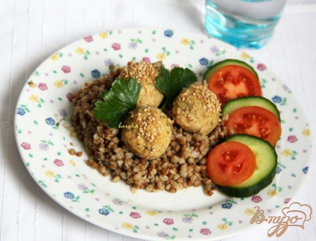 Рецепт Шарики из курицы и гречки