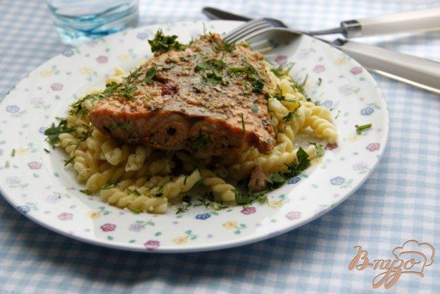 Рецепт Лосось в домашнем соусе терияки