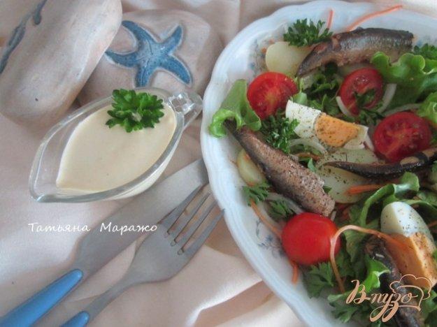 салат рыбацкий рецепт