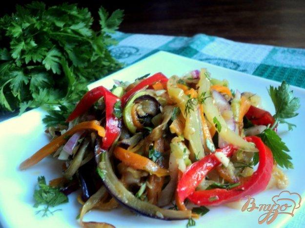 Рецепт Салат из овощей по-корейски