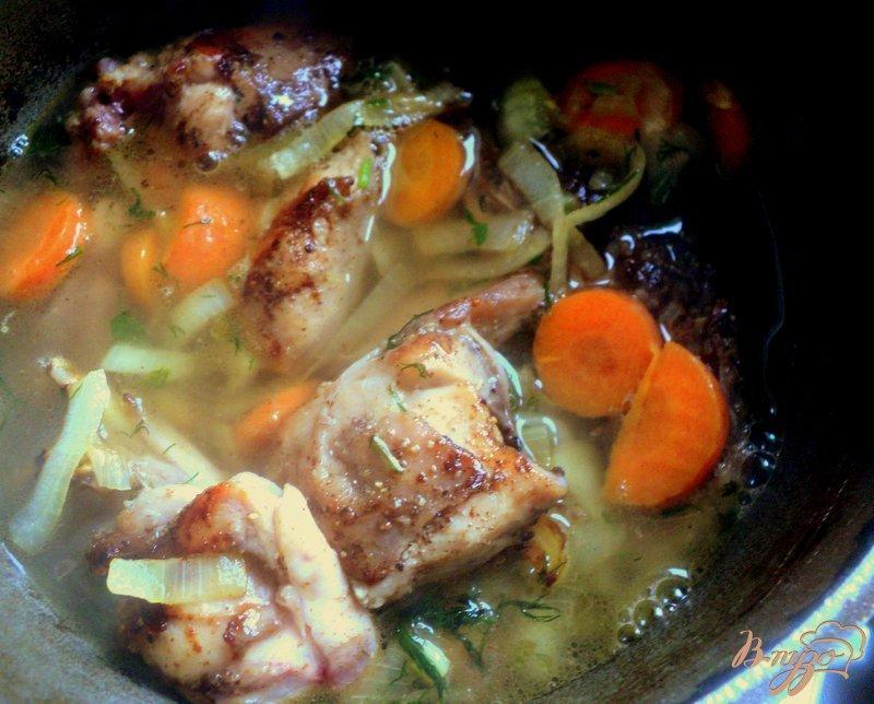 Фото приготовление рецепта: Жаркое из зайца или кролика шаг №5