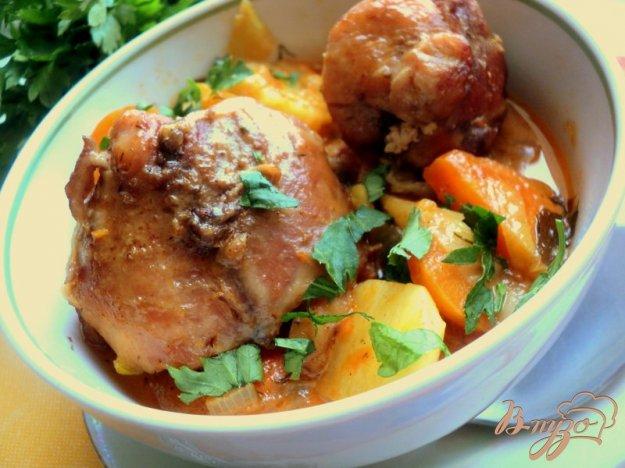 фото рецепта: Жаркое из зайца или кролика