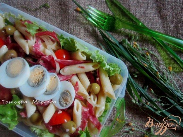 Рецепт Сборный салат для пикника