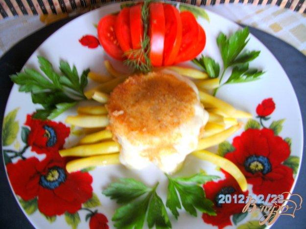 Рецепт Стручковая фасоль с сыром моцарелла