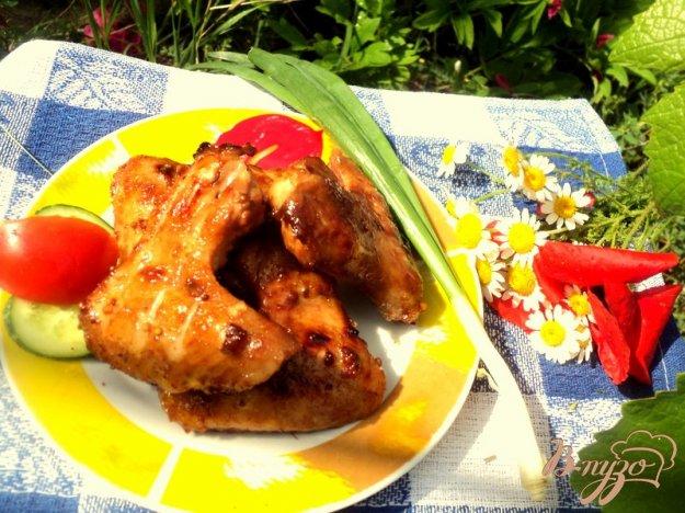 Рецепт Крылышки-барбекю
