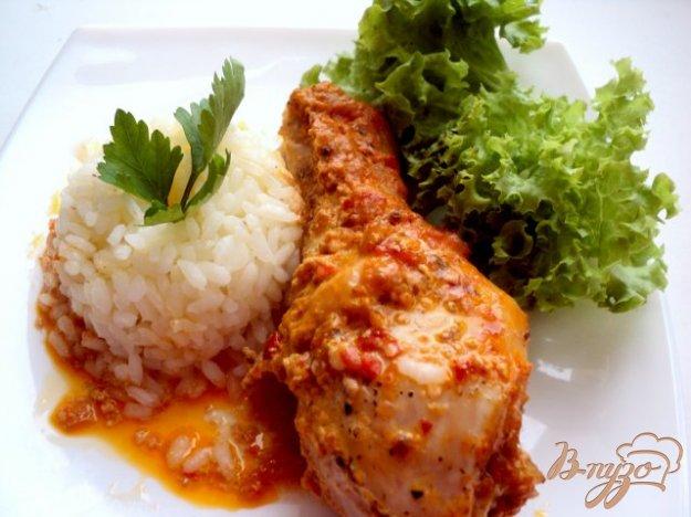 Рецепт Курица запеченная с аджикой