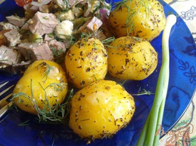 Рецепт Картофель с базиликом