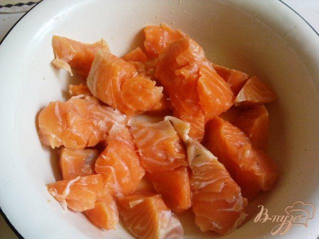 Фото приготовление рецепта: Котлеты из лосося шаг №1