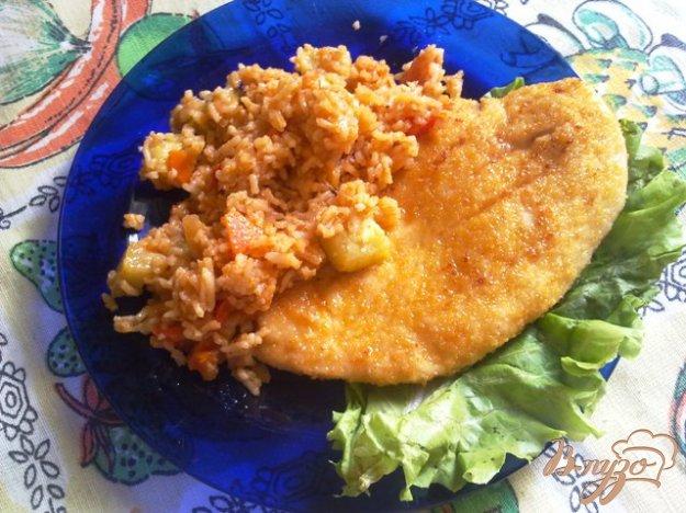 Рецепт Куриное филе в панировке