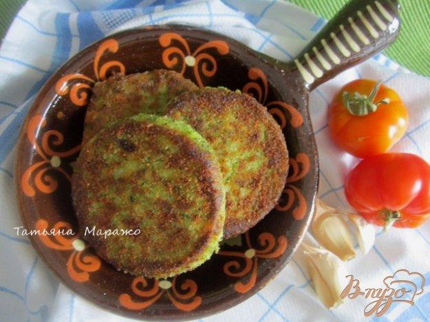 Рецепт Картофельные биточки с брокколи