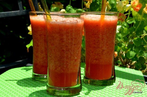 фото рецепта: Лимонад апельсин и малина