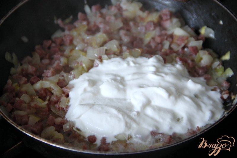 Фото приготовление рецепта: Лепёшка по мотивам