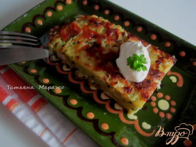 Рецепт Тортилья из картофеля и куриного мяса