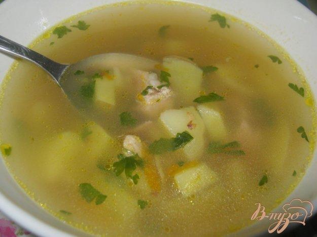 Рецепт Мясной суп с гречневой крупой