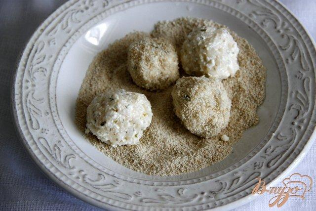 Фото приготовление рецепта: Греческий суп с творожно-рисовыми фрикадельками шаг №3