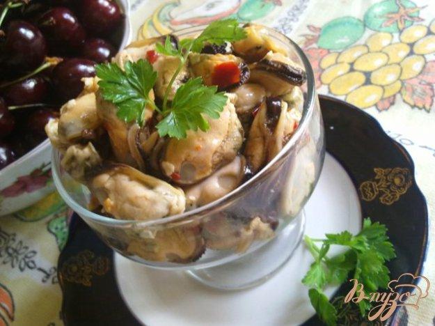 Рецепт Закуска из мидий