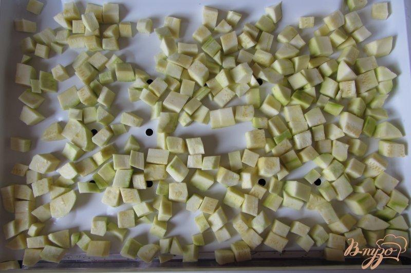 Фото приготовление рецепта: Замороженные кабачки шаг №3