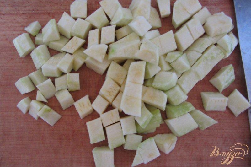 Фото приготовление рецепта: Замороженные кабачки шаг №2