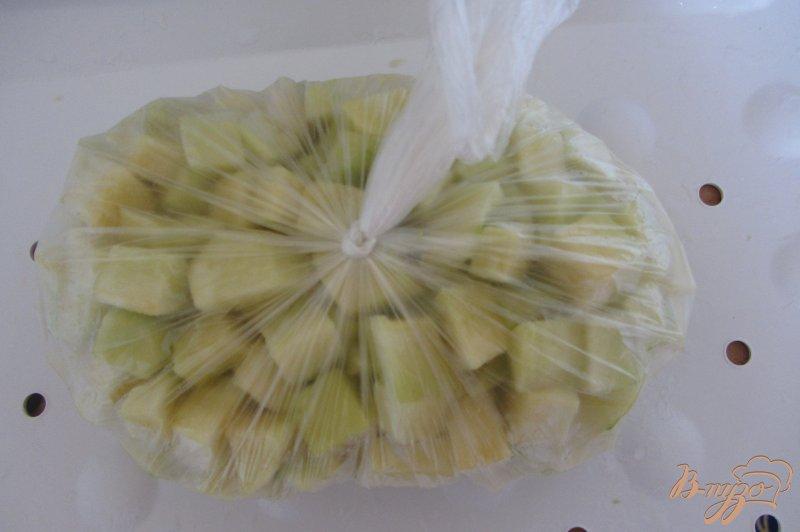 Фото приготовление рецепта: Замороженные кабачки шаг №5