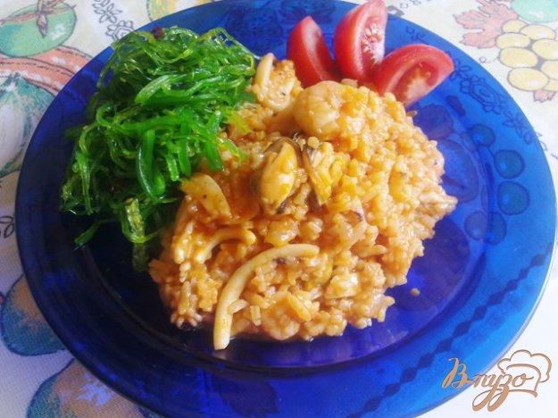 фото рецепта: Рис с морепродуктами