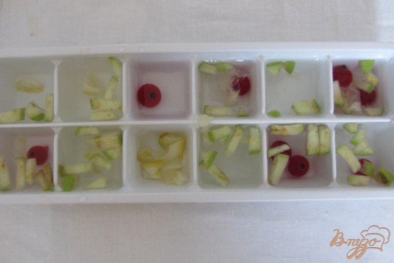 Фото приготовление рецепта: Коктельные ледяные кубики шаг №5