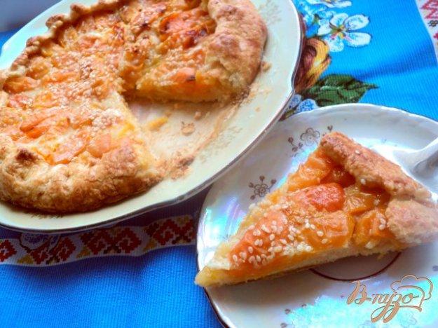 Рецепт Кростата с абрикосами